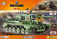 Конструктор A34 Комет, серия World Of Tanks, COBI