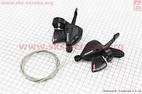 Переключатель манетка  левый   3 скорости +правый  7 скоростей комплект ALTUS SL-M310