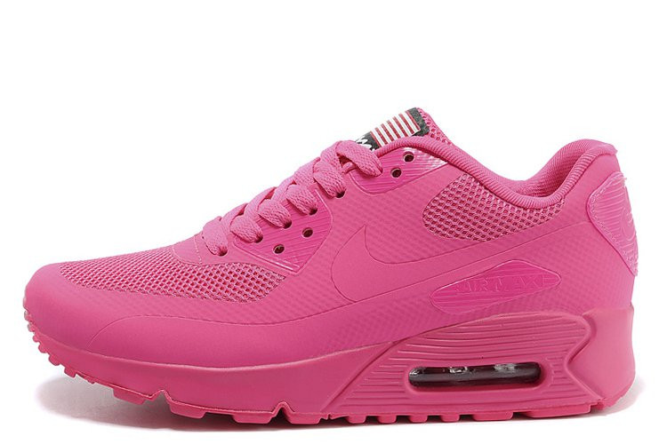 Женские кроссовки Nike Air Max 90 Hyperfuse Pink, фото 1