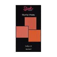 Тройные румяна - Sleek Makeup Blush By 3 Pink Sprint # 96040607 - 96040607
