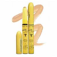 Матирующий консилер в стике с экстрактом банана - SkinFood Banana Concealer Stick #Light - 184-1