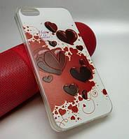 "Чехол силикон ""Case"" для iPhone 5 / 5S / SE"