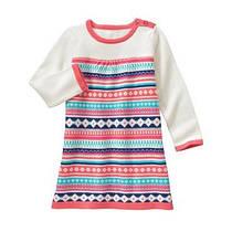 Платье с длинным рукавом на девочку 2-3- 4- 5 лет Fair Isle Sweater Dress Gymboree (США)