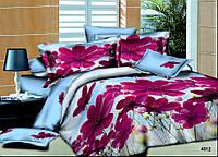 Полуторный набор постельного белья Ранфорс platinum №2012