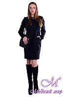 Женское демисезонное пальто из кашемира (р.S, M, L) арт. Луара лайт Турция 4923