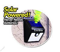 Уличный светильник на солнечной батарее с датчиком движения Ever Brite (Евер Брайт)