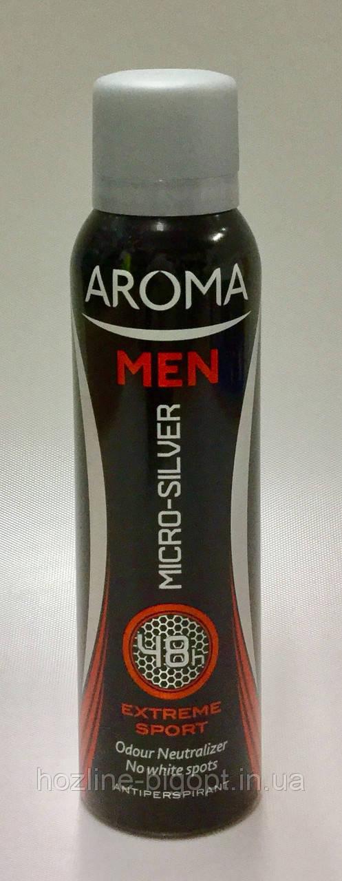 AROMA MEN EXTREME SPORT Мужской Дезодорант-Антиперспирант 150 мл.
