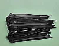 Стяжка кабельная 2,5 х 100мм чёрная, цена за упаковку (100 штук)