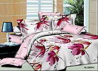 Полуторный набор постельного белья Ранфорс platinum №2014