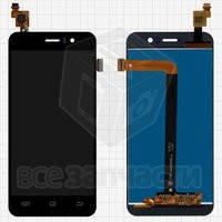Дисплейный модуль для мобильного телефона Jiayu G5S, черный