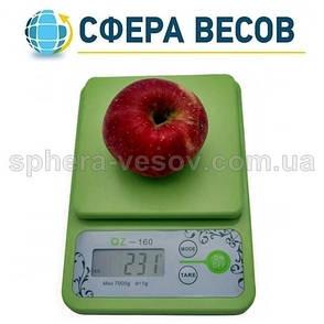 Весы кухонные QZ-160 (7 кг), фото 2