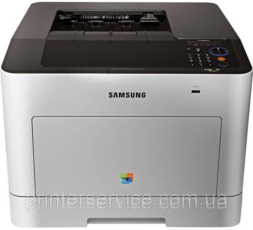 Цветной лазерный принтер А4 Samsung CLP-380ND