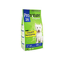 Корм 7,5 кг с курицей сухой для собак средних и малых пород Pronature Original (Пронатюр Ориджинал)