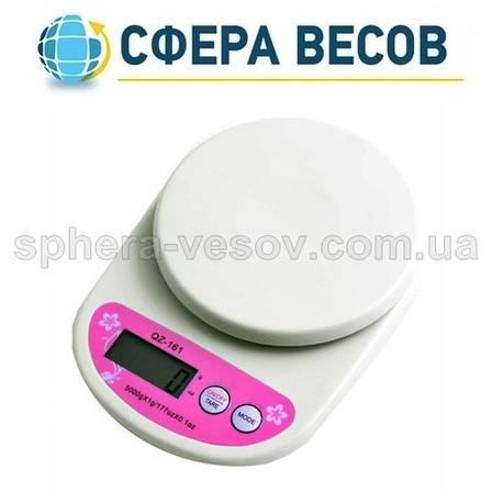 Весы кухонные QZ-161 (5 кг), фото 2
