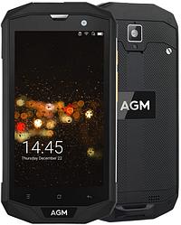 "AGM A8 Black IP68 3/32 Gb, 5"", Snapdragon 410, 3G, 4G"