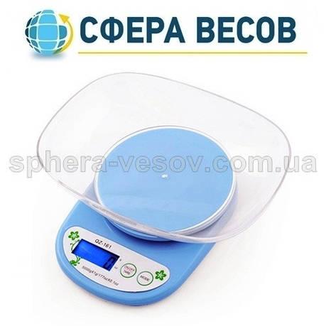 Весы кухонные с чашей QZ-161A (5 кг), фото 2