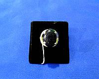 Серебряное женское кольцо с авантюрином