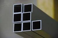 Алюминиевый профиль — труба квадратная 14,8х14,8х1,5 Б/П