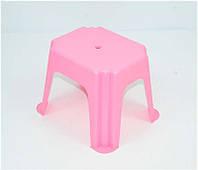 """Гр Стульчик маленький прямоугольный (10) - цвет розовый """"K-PLAST"""""""