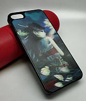 "Чехол задняя накладка ""3D USA"" для iPhone 5 / 5S / SE"