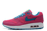 Женские кроссовки Nike Air Max 87 Raspberry Red Blue