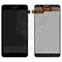 Дисплейный модуль Microsoft (Nokia) 640 XL Lumia Dual SIM, черный