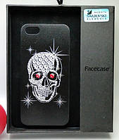 "Чехол задняя накладка ""Swarovski Elements"" для iPhone 5 / 5S / SE"
