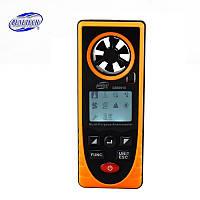 Анемометр багатофункціональний Benetech GM8910: термометр, барометр, альтиметр, люксметр, гігрометр, точка роси, фото 1
