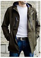 Куртка демисезонная мужская в стиле милитари 46