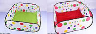 Манеж-огородження в сумці,90х90х38см,2 кольор. №0206-A/B(48) КІ