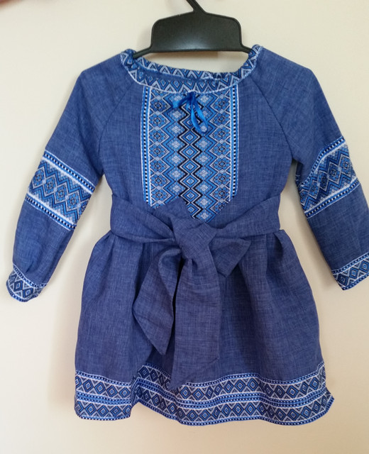 Платья вышиванки для девочки