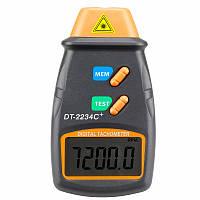 Тахометр лазерный бесконтактный DT-2234C+ (от 2,5 до 99999 об/мин)