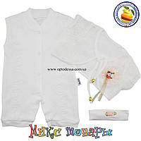 Нарядный набор Песочник Болеро и повязка для малышей Рост: 62-68-74 см(5187)