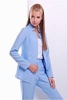Пиджак 1621 голубой