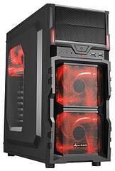 "Корпус Sharkoon VG5-W Red ""Over-Stock"""