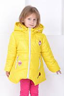 Детские куртки и плащи для девочек демисезонные