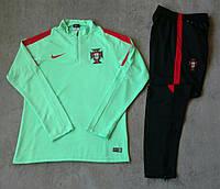 Детский костюм тренировочный Португалия зеленый