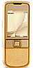 Китайский телефон Nokia 8800 GOLD, 1 SIM. Стальной корпус.