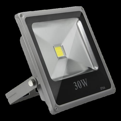 Светодиодный LED  прожектор SLIM 30 w IP66 2900 Lm 30Вт