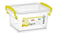 Пластиковый пищевой контейнер 0.85 литра