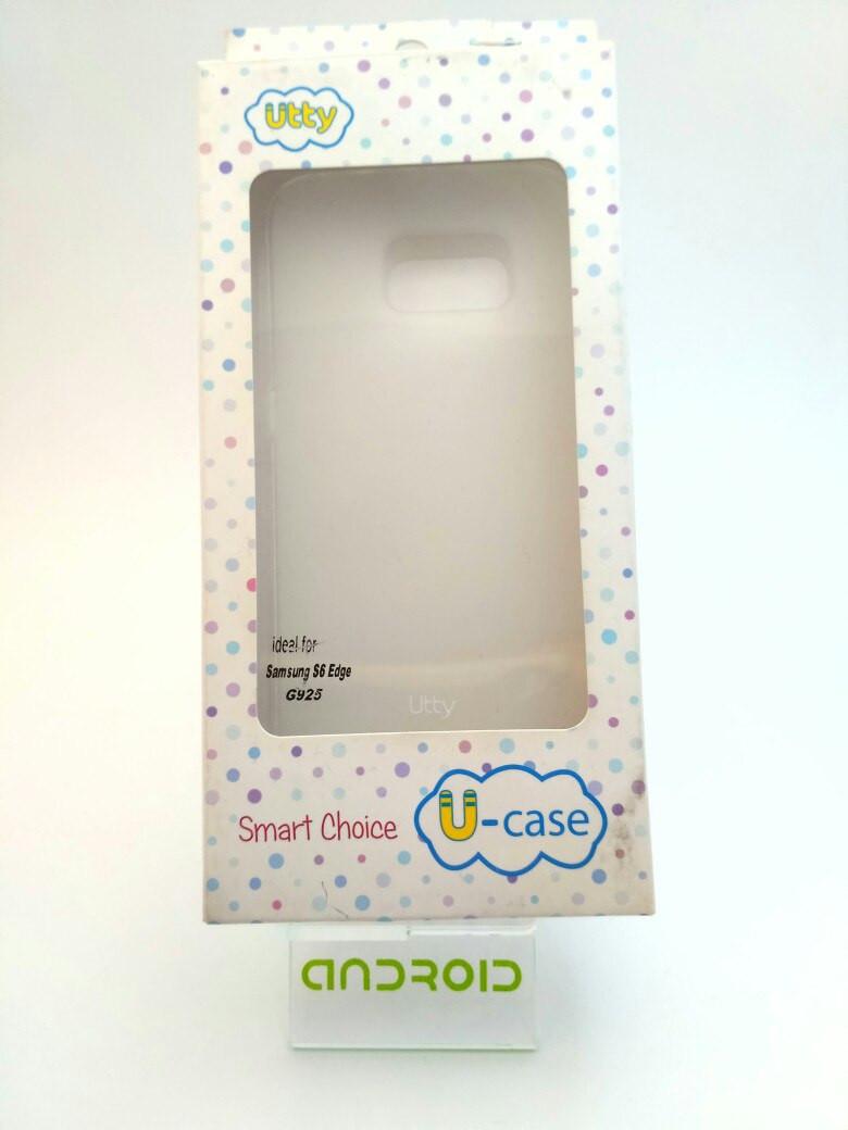 Чехол на Samsung S6 Edge G925 силиконовый для мобильного телефона.