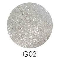 Зеркальный глиттер Adore 2,5 г №G02
