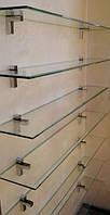 Стеклянные полки в доме и офисе.гнутое стекло (каленное).безопасное гнутое стекло.