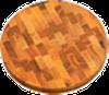 Доска торцевая круглая 350*35 мм дерево Украина ДТК350