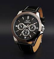 Мужские часы Chenxi черный циферблат, фото 1