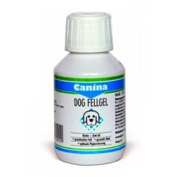 Гель Canina Dog Fell Gel биотин + цинк для мелких привередливых собак, 100 мл