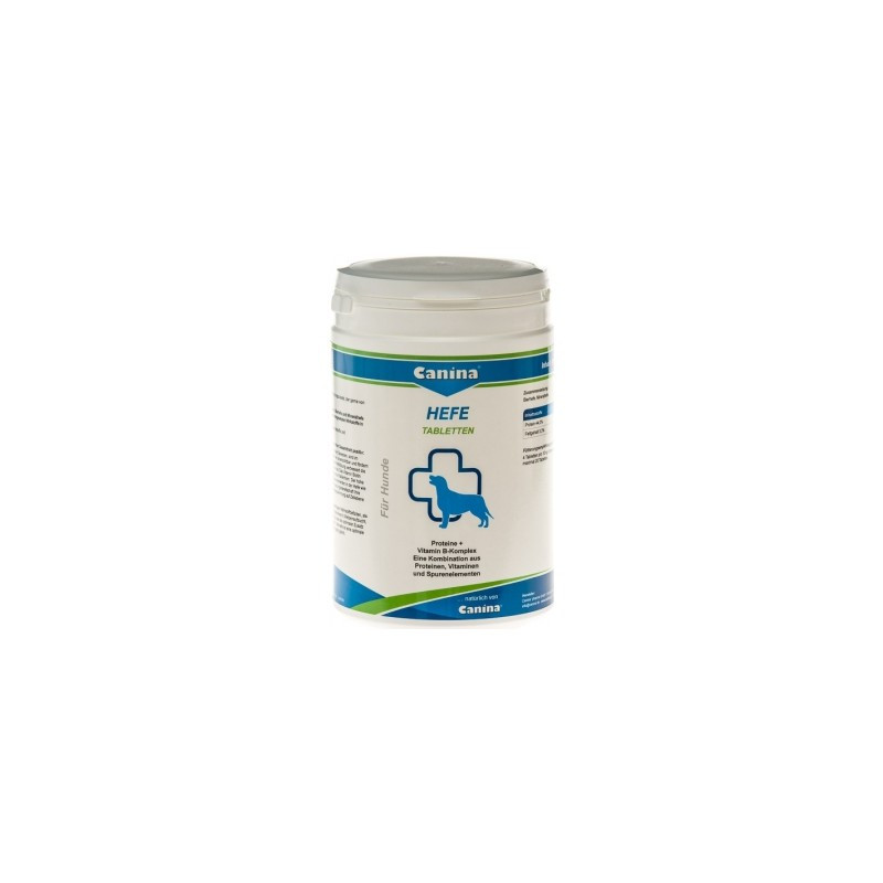 Дрожжевые таблетки Canina Hefe комплекс с энзимами, аминокислотами, витаминами, 2500 г/3100 таблеток