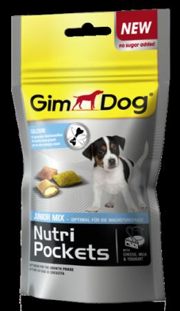 Gimdog Nutri Pockets Junior mix для щенков, 45г