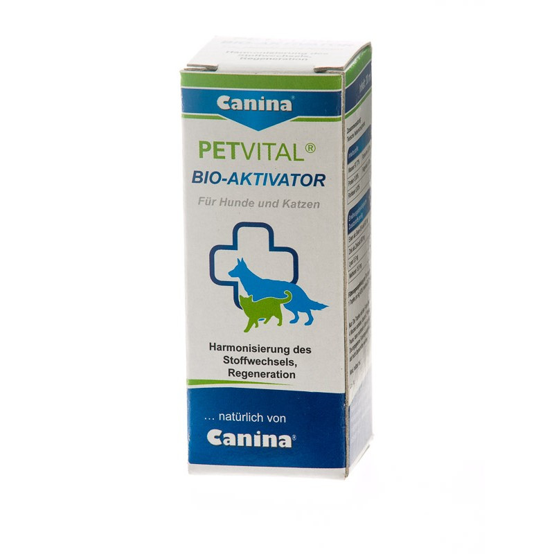 Жидкий комплекс Canina PETVITAL Bio-Aktivator с аминокислотами и железом, 20 мл