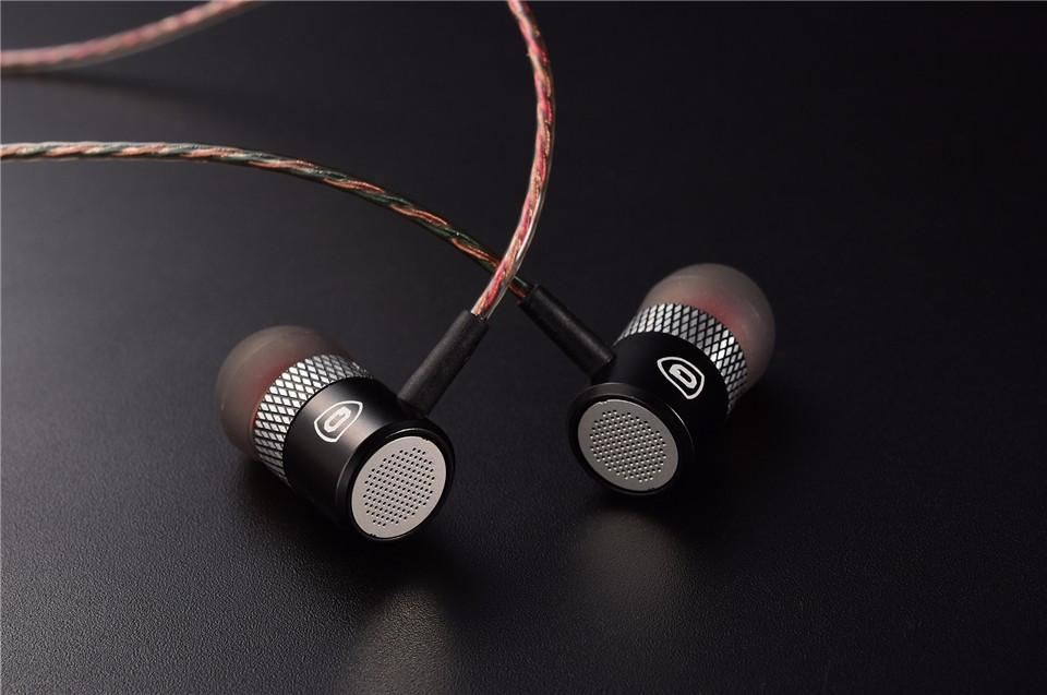 QKZ X3 стерео наушники металлические проводные без микрофона